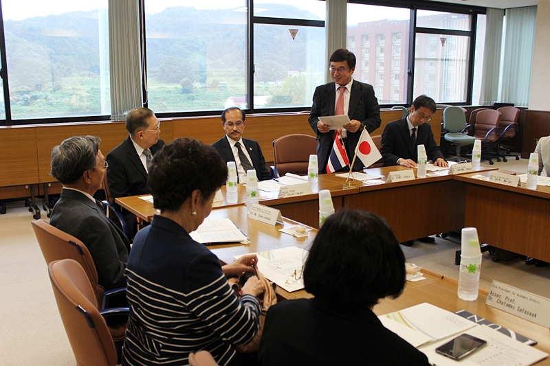 PSU Executives visit two Renowned Universities in Japan