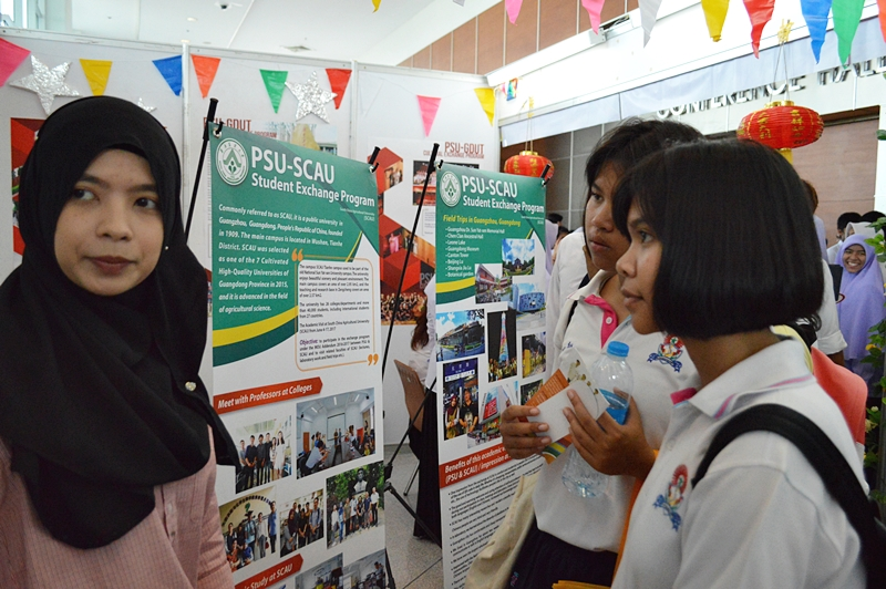 Experience of the Exchange Students during at International Universities in PSU Open Week 2017