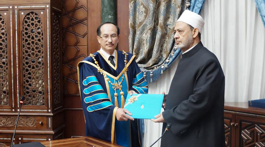 Grand Imam Sheikh of Al-Azhar