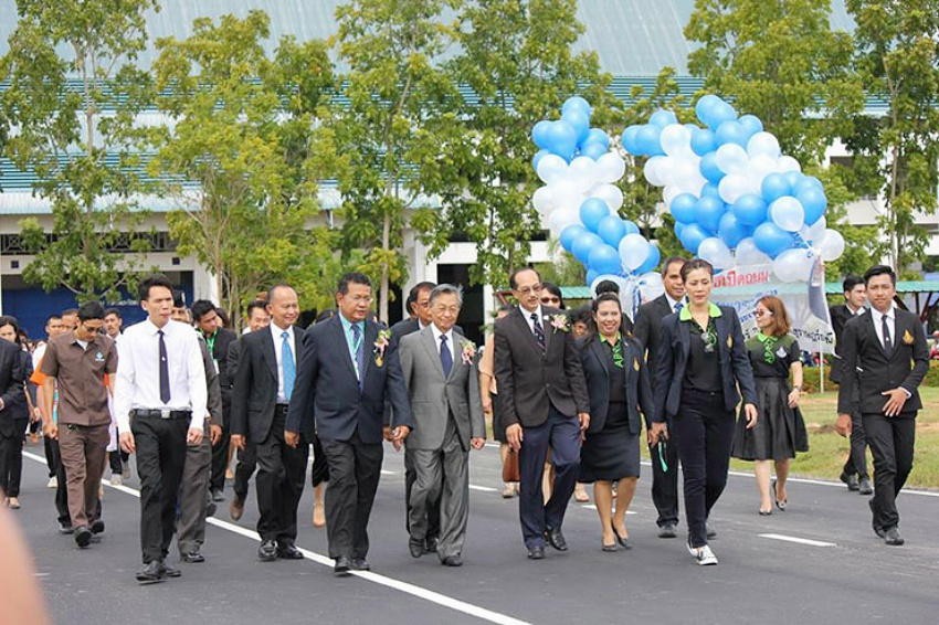 Rubber Road Open Ceremony at PSU Surat Thani Campus