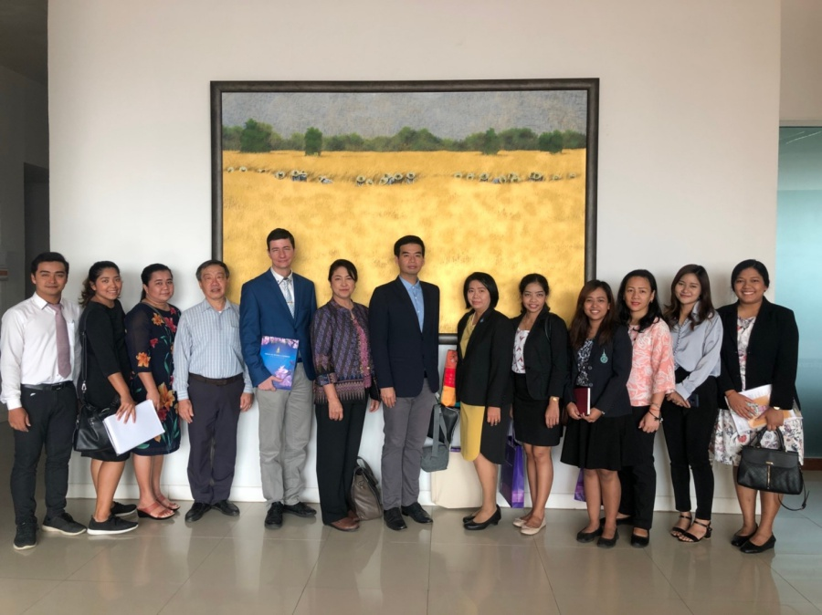 PSU IAO visits the International Relations Division of Khon Kaen University