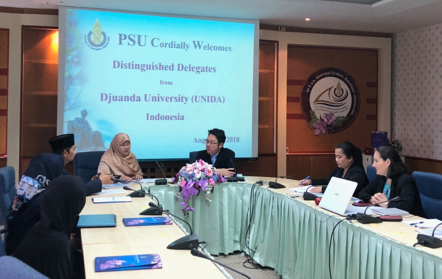PSU warmly welcomes representatives from Djuanda University, Indonesia