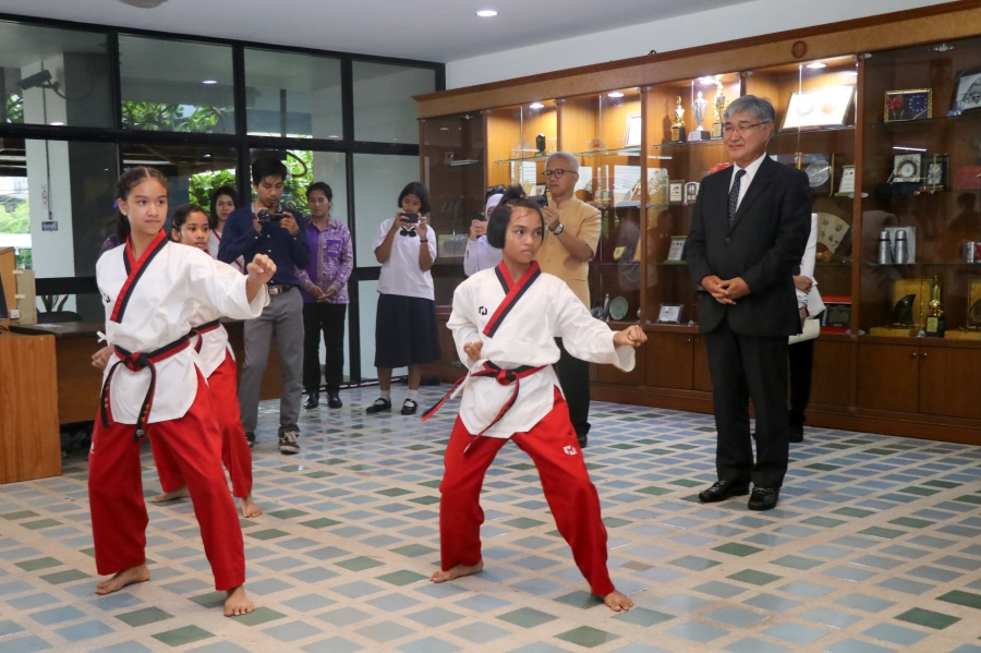 Korean Ambassador visits PSU Pattani campus