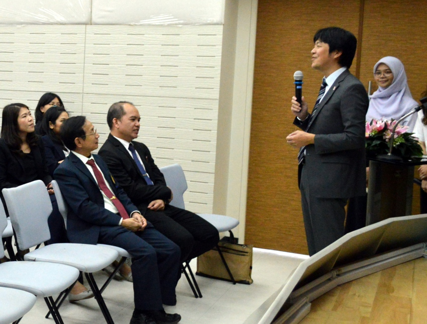 The 11th Japan Education Fair hosted at PSU