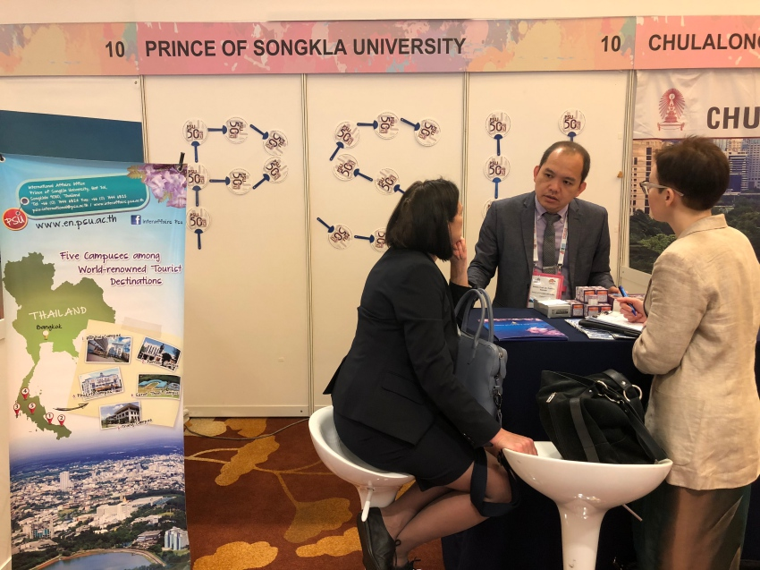 PSU participated in APAIE 2018 Conference and Exhibition @ Singapore