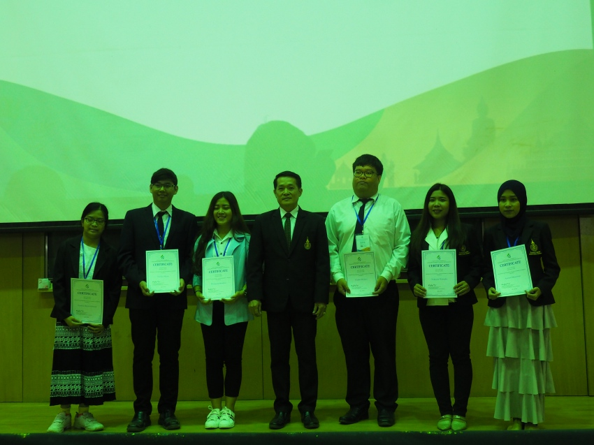 PSU students won top prize in YICMG finals in Laos