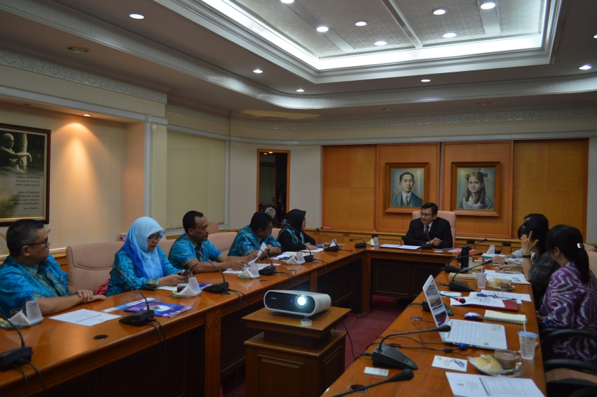 Second visit of Universitas Pembangunan Panca Budi to PSU