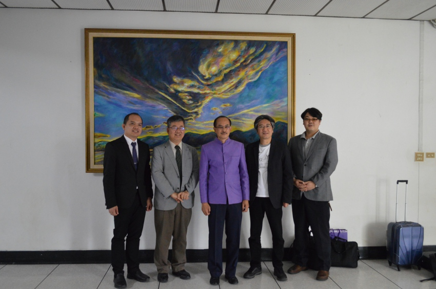 PSU receives delegates from Yokohama National University