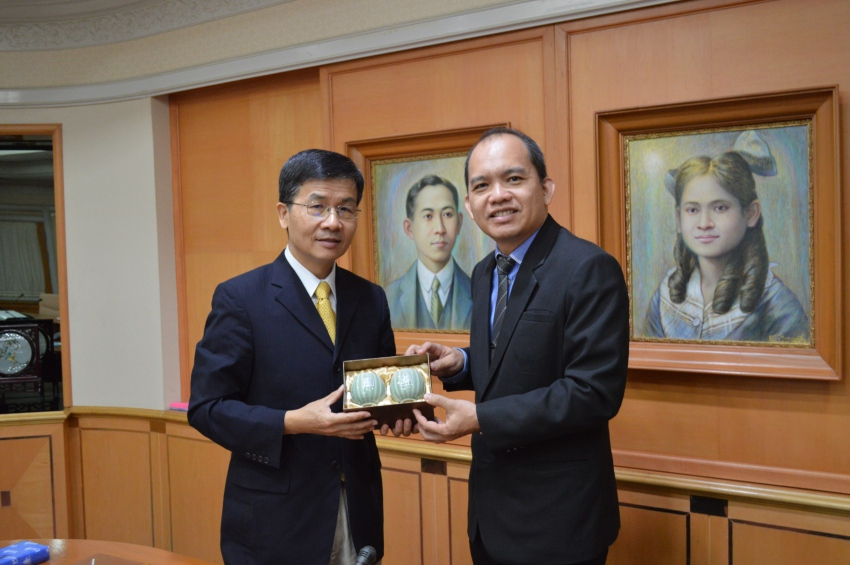 Professor from National Taipei University visits PSU
