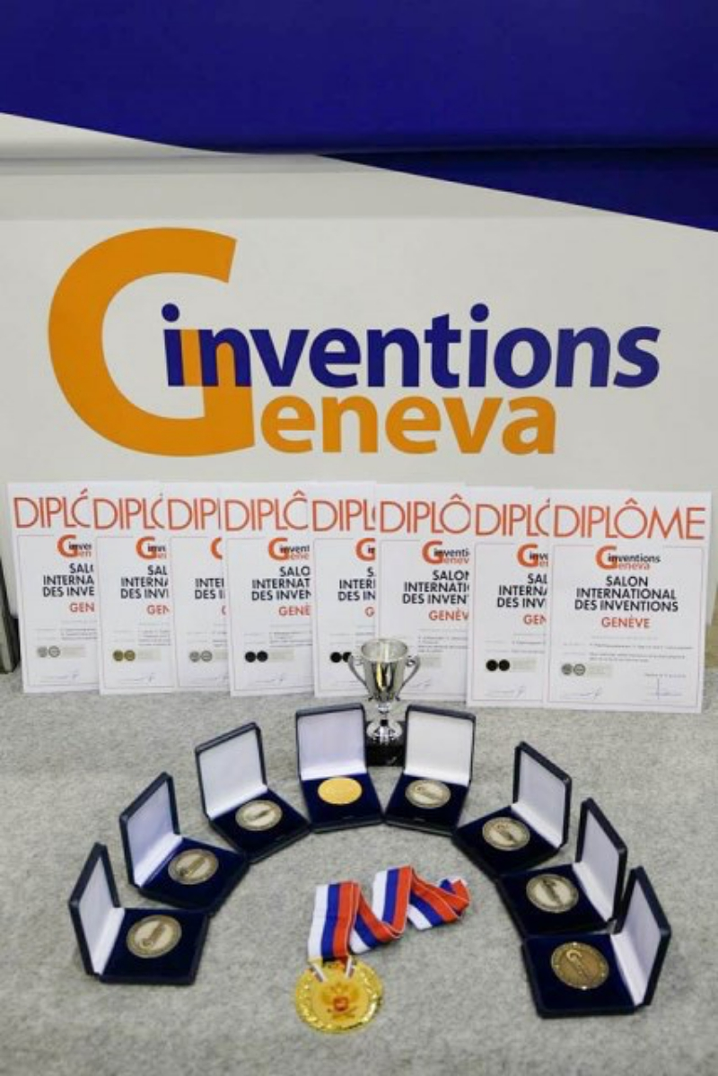 PSU Researchers awarded at the 46th International Exhibition of Inventions