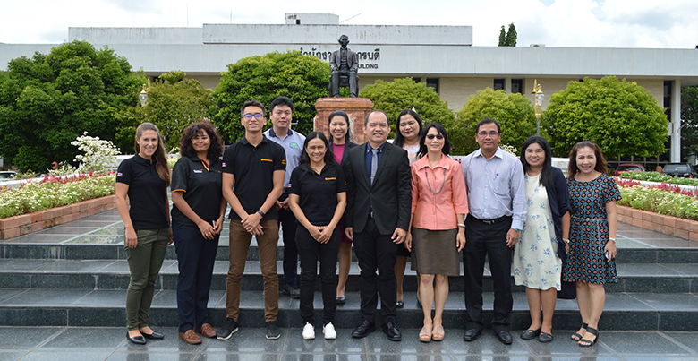 HR Team from Continental Tyres (Thailand) visits PSU