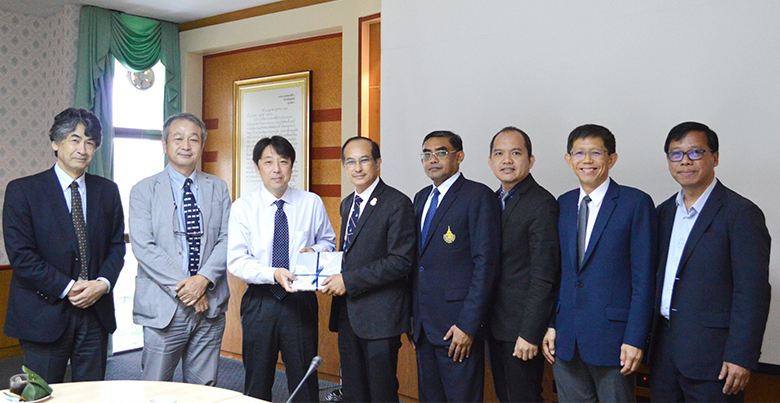 Distinguished Delegates from Kanazawa University, Japan