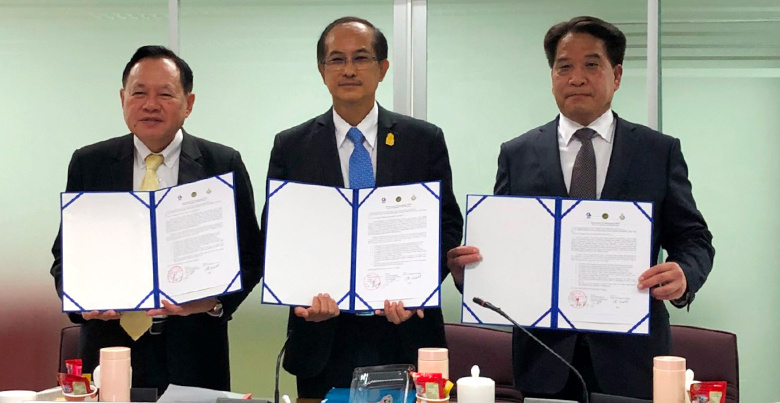 MoU among Yunmeng Group (China), SBPAC (Thailand) and PSU