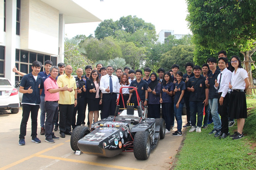 "Lookprabida Formula Student"" participated in the ""2018 Student Formula Japan"