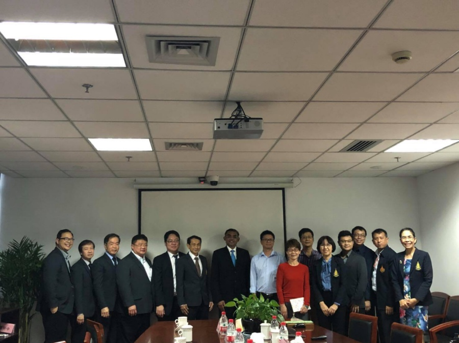 PSU Delegates visit Chinese Universities