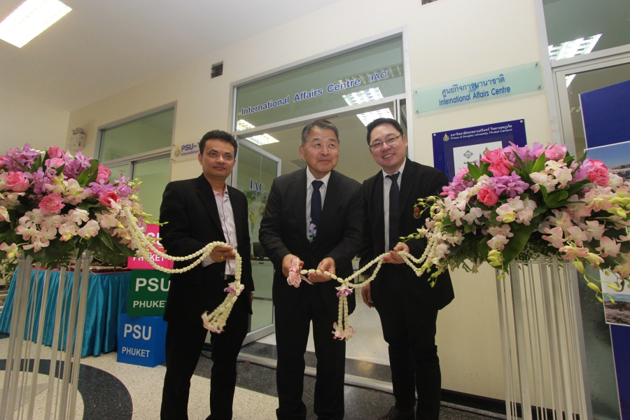 President of Kanazawa University visits PSU Surat Thani and Phuket Campuses