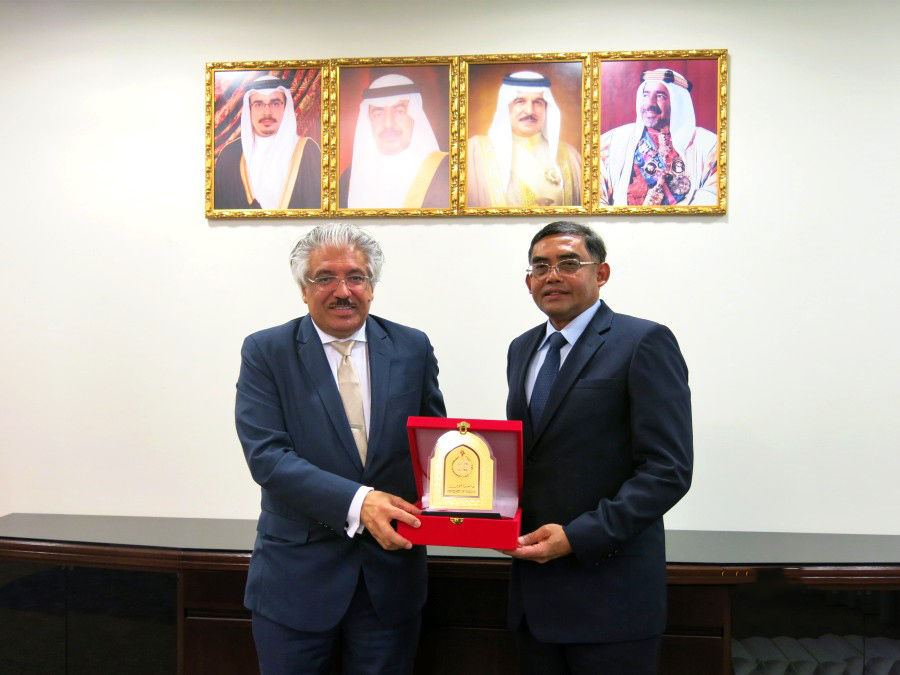 Honorable visit of PSU delegates to Bahrain