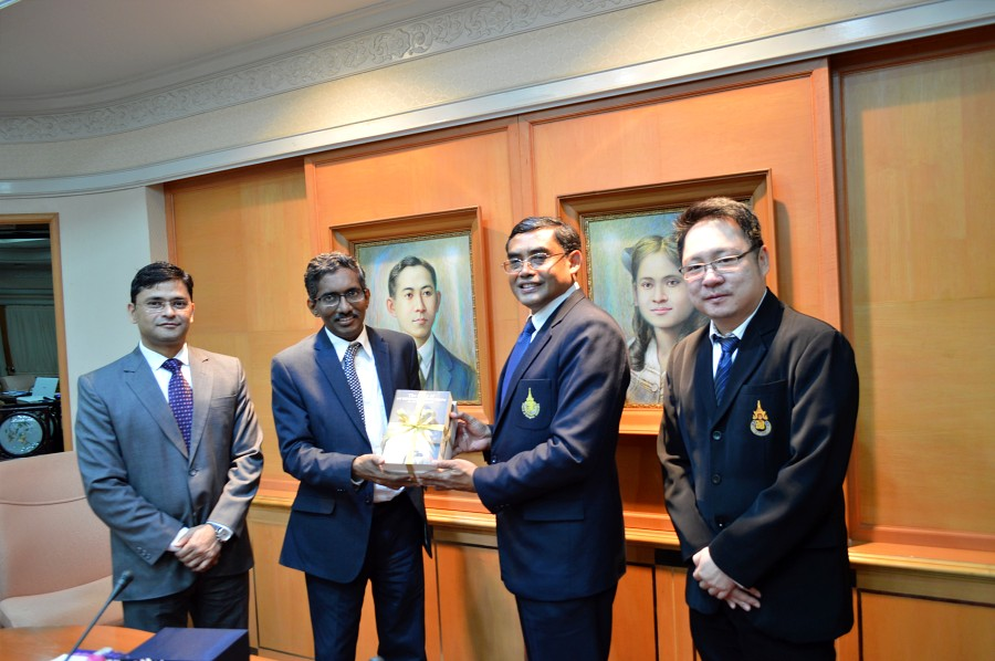 Delegates from the Embassy of the Republic of India visit PSU