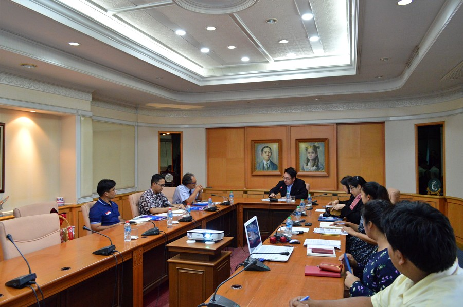Honorable delegates from the Consulate of the Republic of Indonesia in Songkla visited PSU