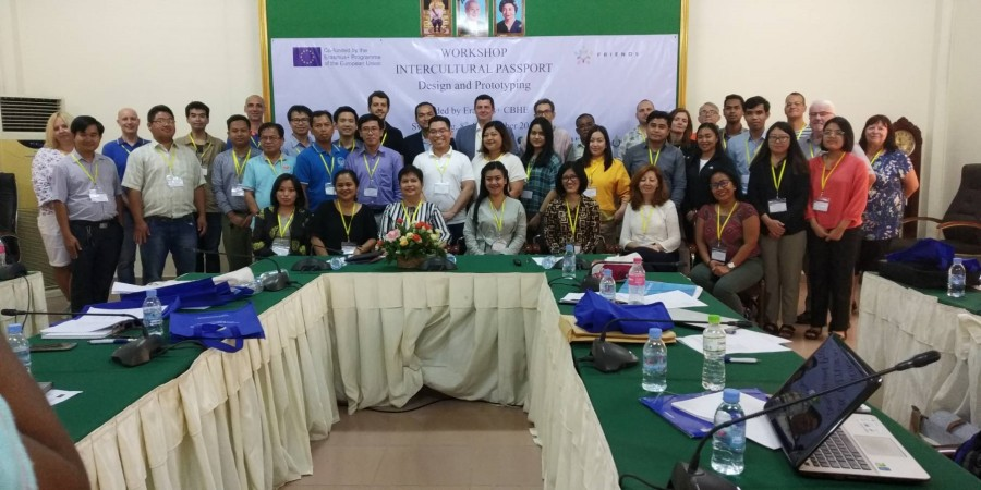 The 3rd FRIENDS Partner Meeting and the Intercultural Passport Design Workshop in Cambodia