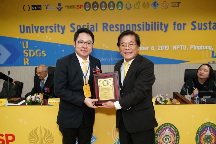 PSU attends the 6th Anniversary Ceremony of National Pingtung University, Taiwan.