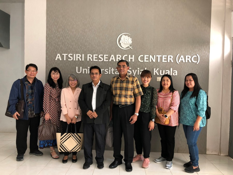 PSU delegates visited Riau University and Syiah Kuala University, Indonesia