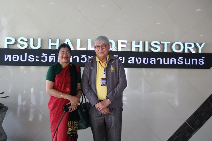 Courtesy visit to PSU by Indian Ambassador to Thailand