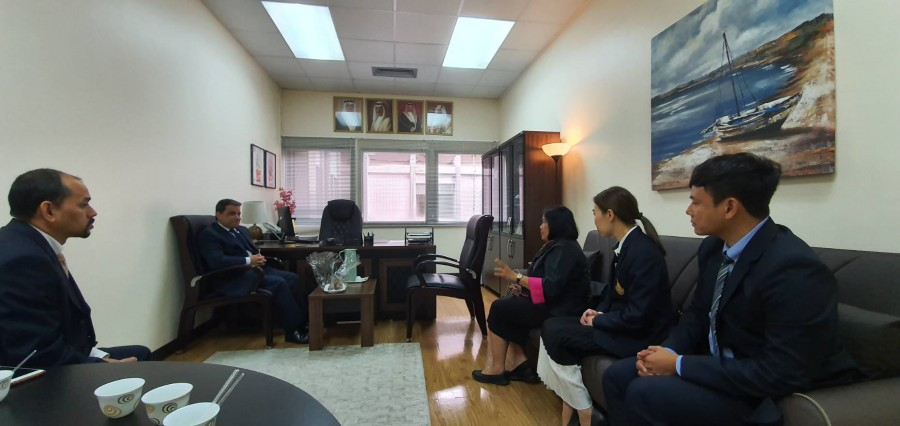 Fruitful collaboration with Bahraini institutions
