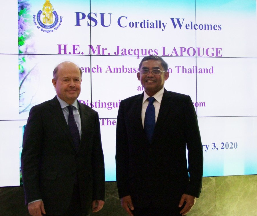 H.E. the French Ambassador honors PSU