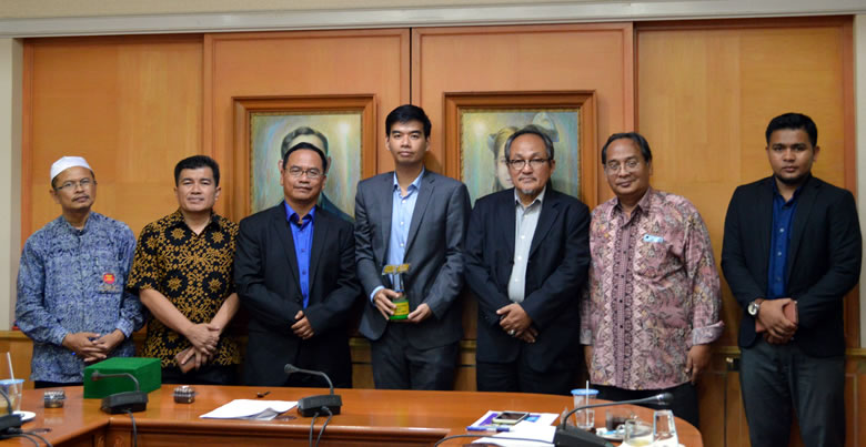 Institute of Islamic Studies (IAIN Curup, Indonesia) Delegates at PSU