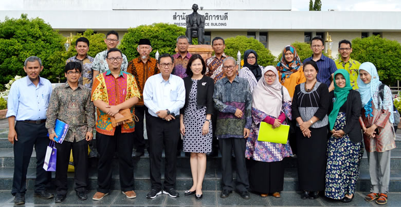 Honorable Indonesian Delegates visit PSU