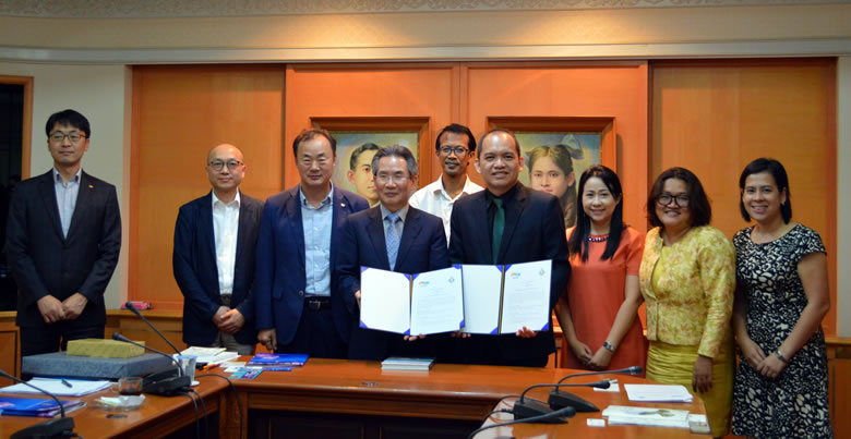 MoU signed with NNIBR (Korea)