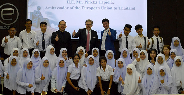 EU Ambassador to Thailand gives talk at PSU