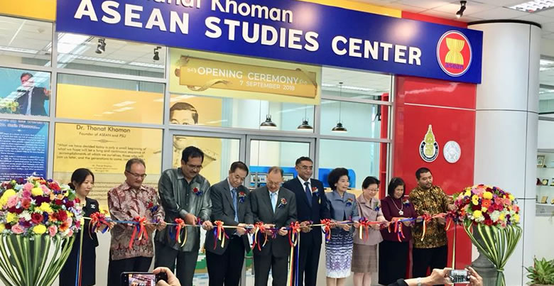 ASEAN Studies Center Opened at PSU
