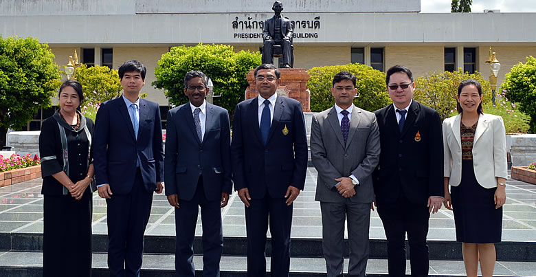 Embassy of India Delegates welcomed by PSU President and Team