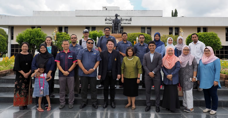 UTLC Universiti Utara Malaysia Delegates visited PSU