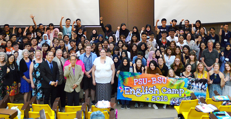 Opening Ceremony of PSU-BSU English Camp 2018