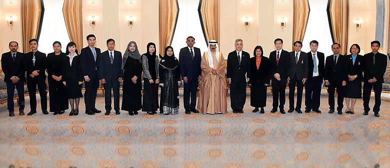 Bahrain: Royal Audience granted to PSU President and Team