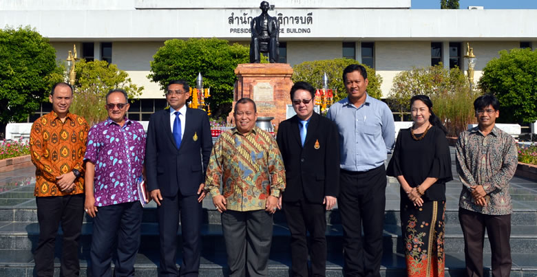 Consulate of Indonesia in Songkhla Delegation welcomed by PSU President and Team