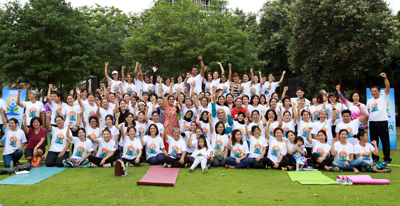 5th International Yoga Day held at PSU by Embassy of India