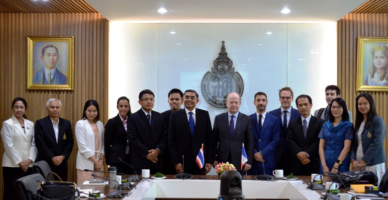 Honorable visit of H.E. Ambassador of France to Thailand