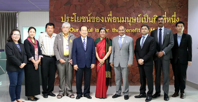 Honorable visit of H.E. Ambassador of India to Thailand