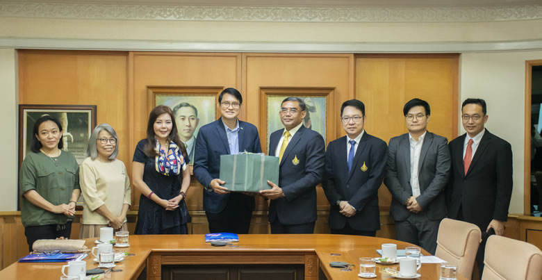 Honorable Consul of the Kingdom of Lesotho in Thailand makes courtesy visit to PSU President