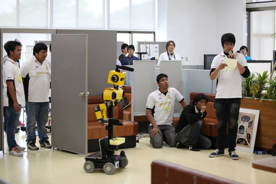 Third Prize at RoboCup Japan Open 2014