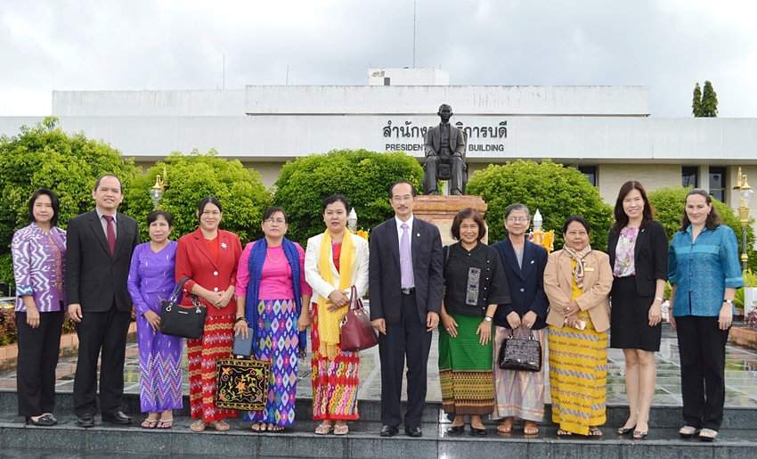 Honorable Guests from University of Mandalay
