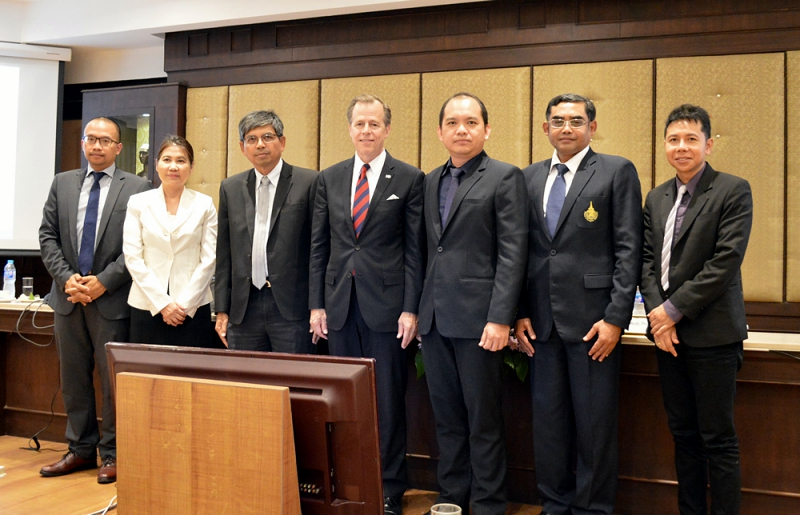 Ambassador of the USA to Thailand visits PSU