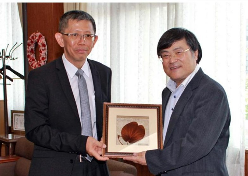 PSU to initiate new cooperation with University of Yamanashi, Japan
