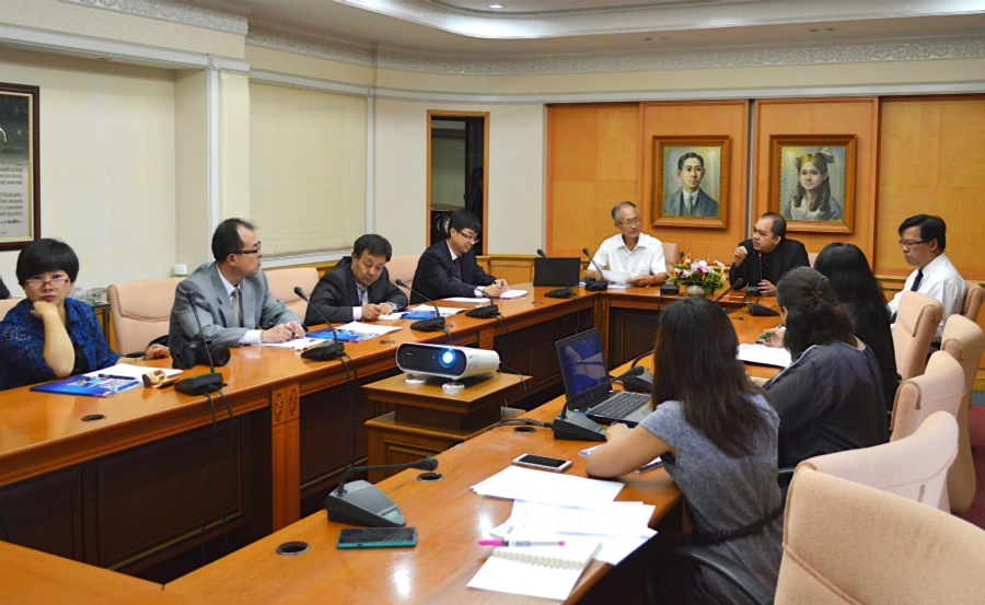 Honorable Delegates from Ningxia Medical University visit PSU